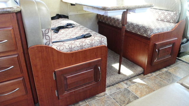 Adding Cabinet Doors To The Underside Of The Dinette Seats In My Rv