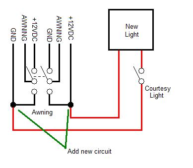 Installing a Step Well Courtesy Light.RV-Project