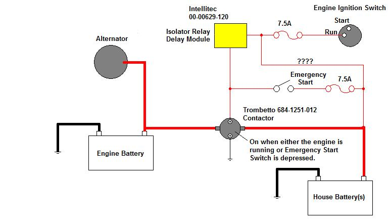 rvwiring4 where is battery isolator controller? thor forums thor motor coach wiring diagram at readyjetset.co